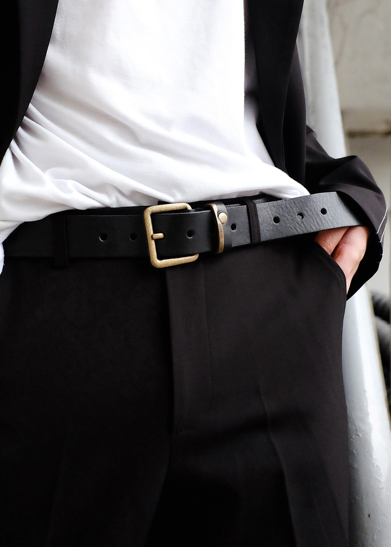 DD buckle long belt(3 color)
