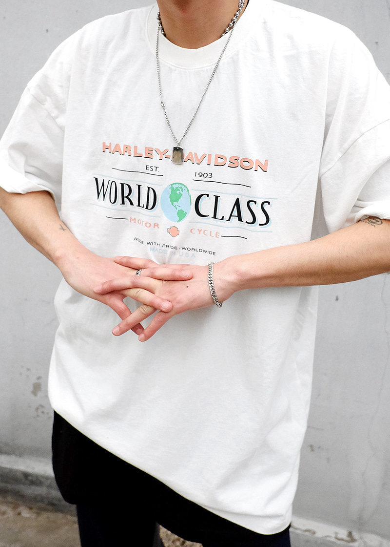 world class dying tee(white !)