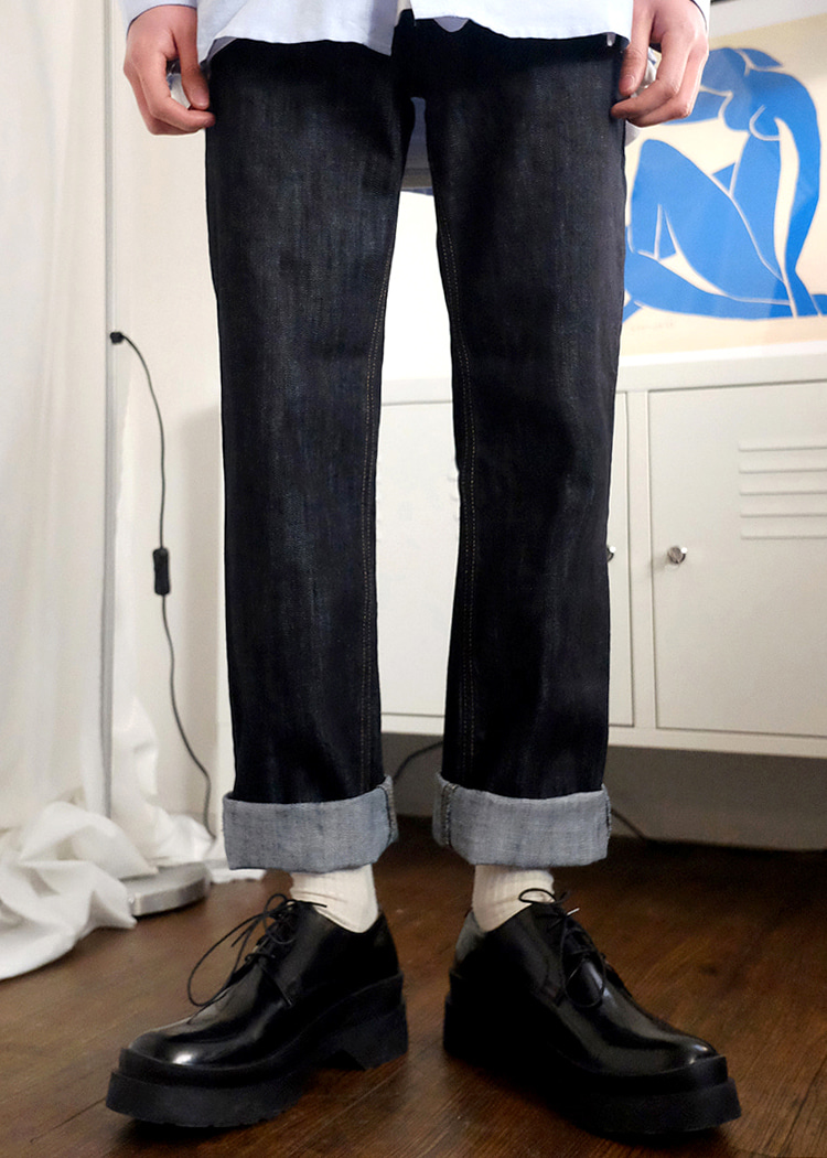 selvage raw denim(1 color)