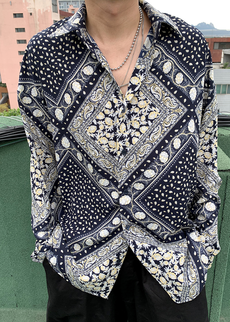french pattern shirts(2 color)