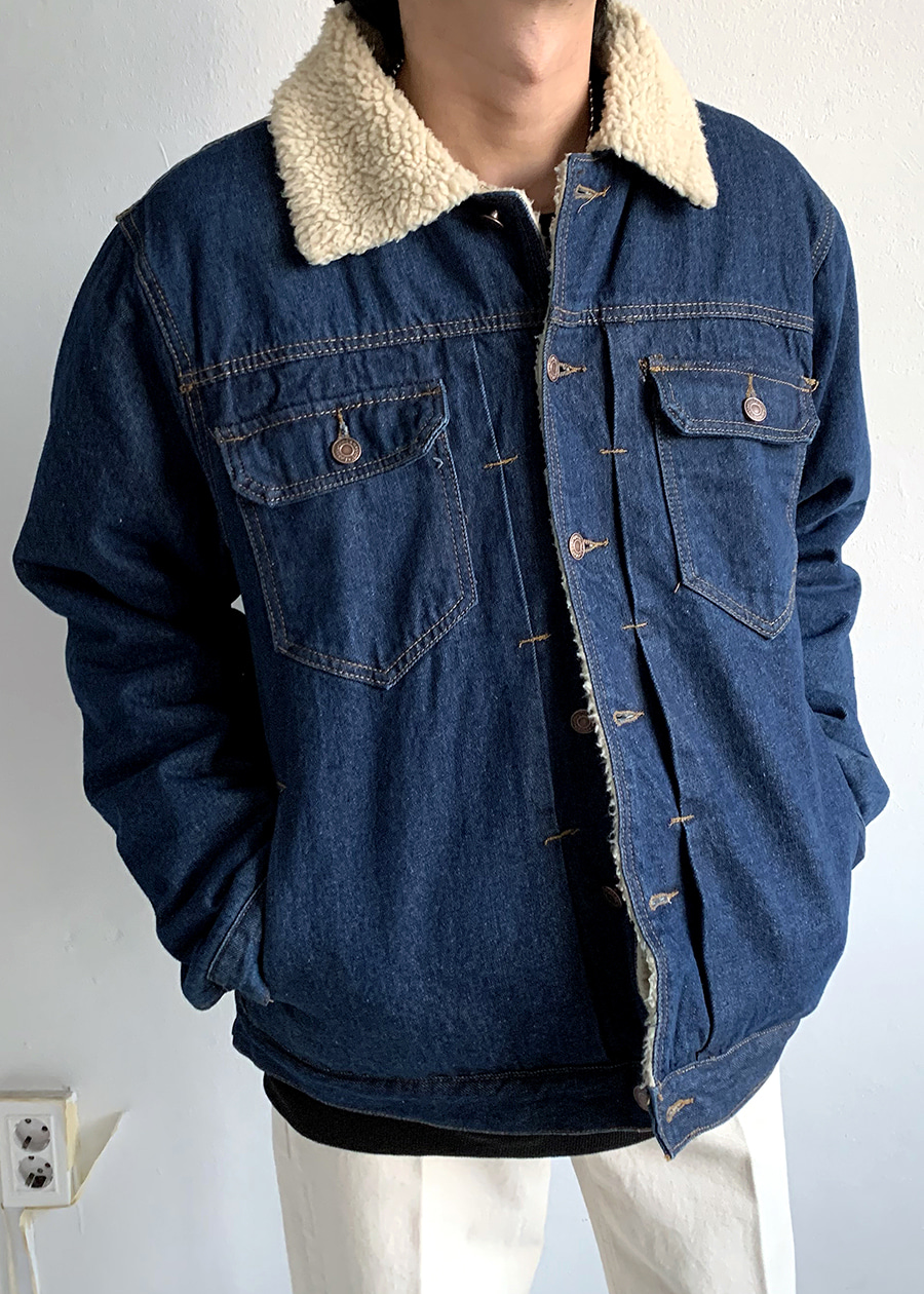 chopa denim jacket(2 color)