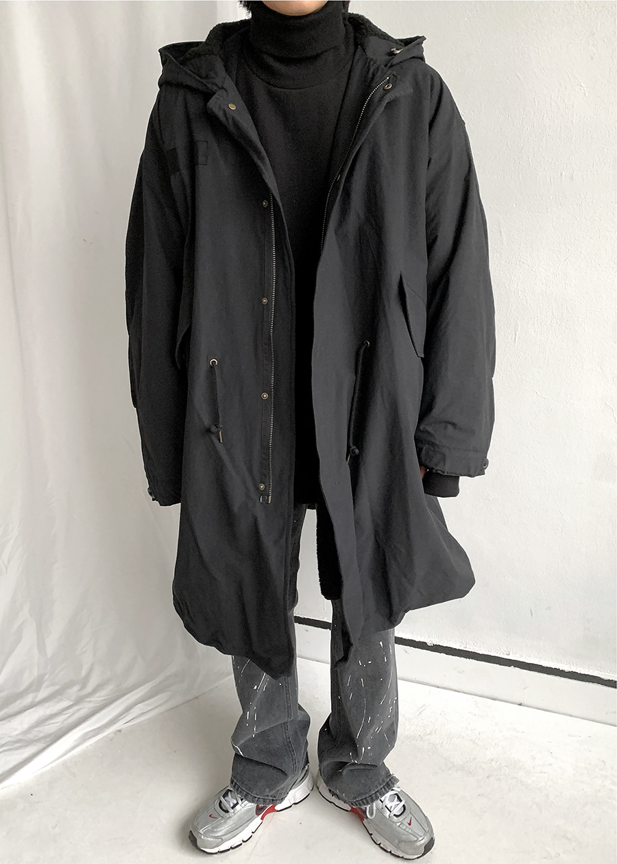 bridge reversible parka(3 color)