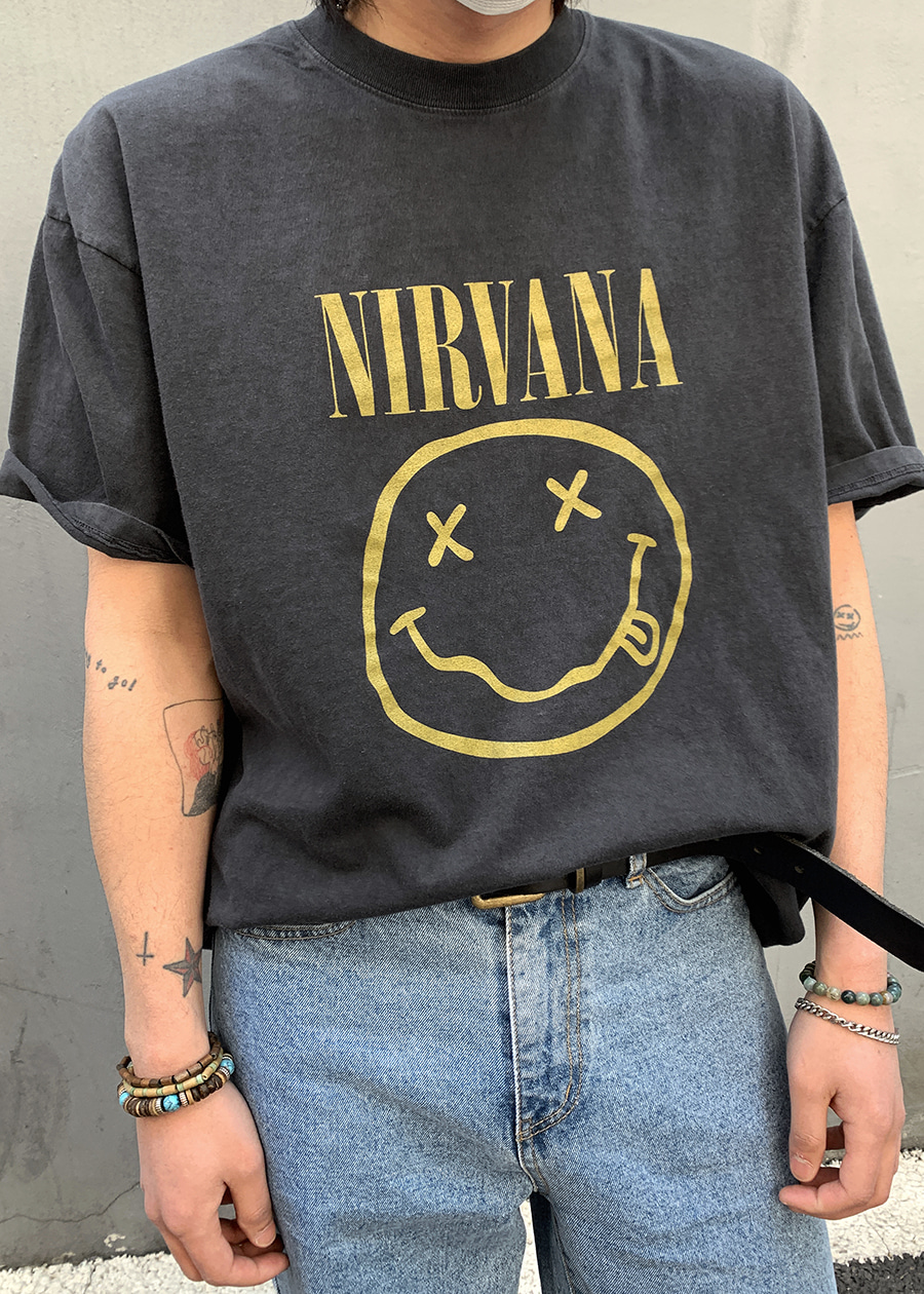 Smile Nirvana Dying T(1 color)
