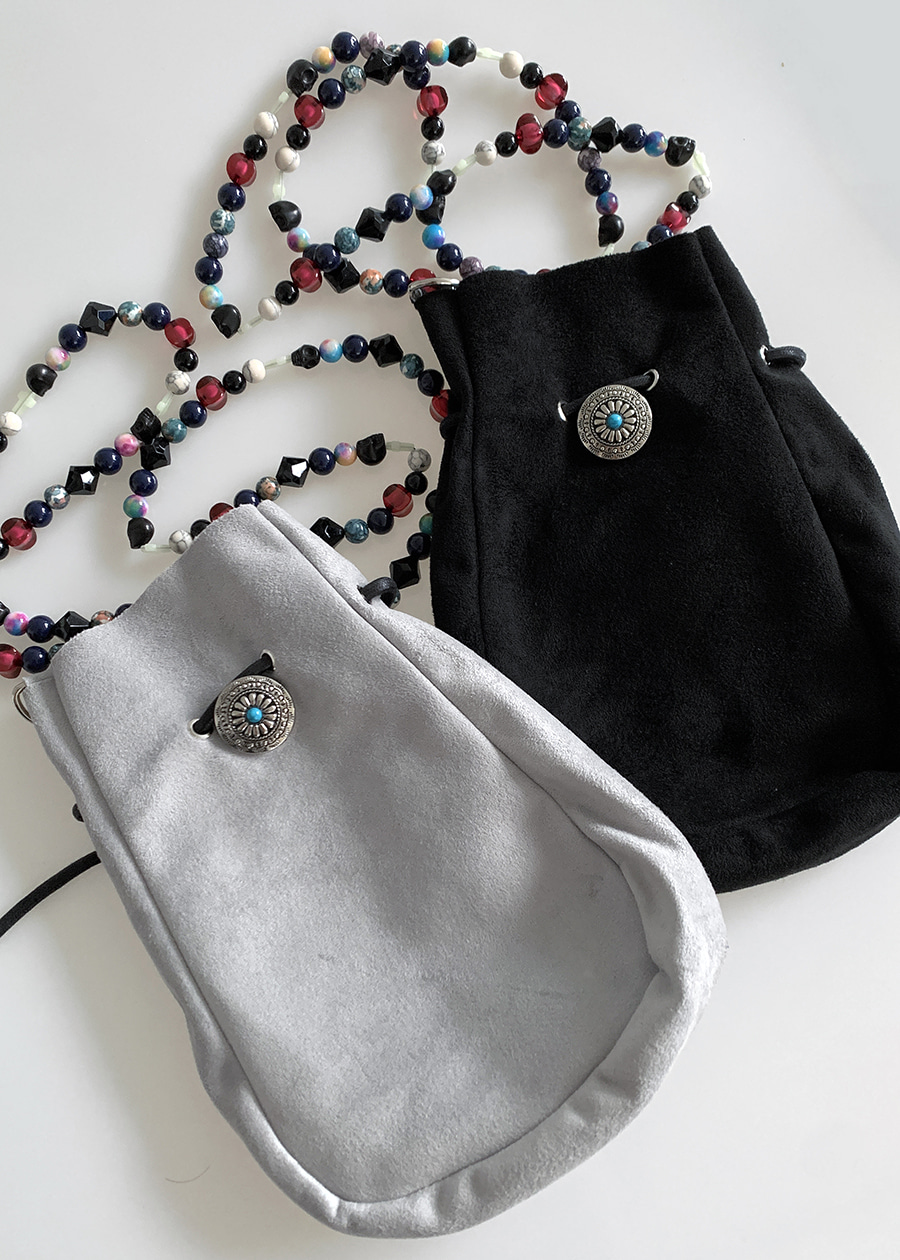 West Beads Cross Bag(2 color)