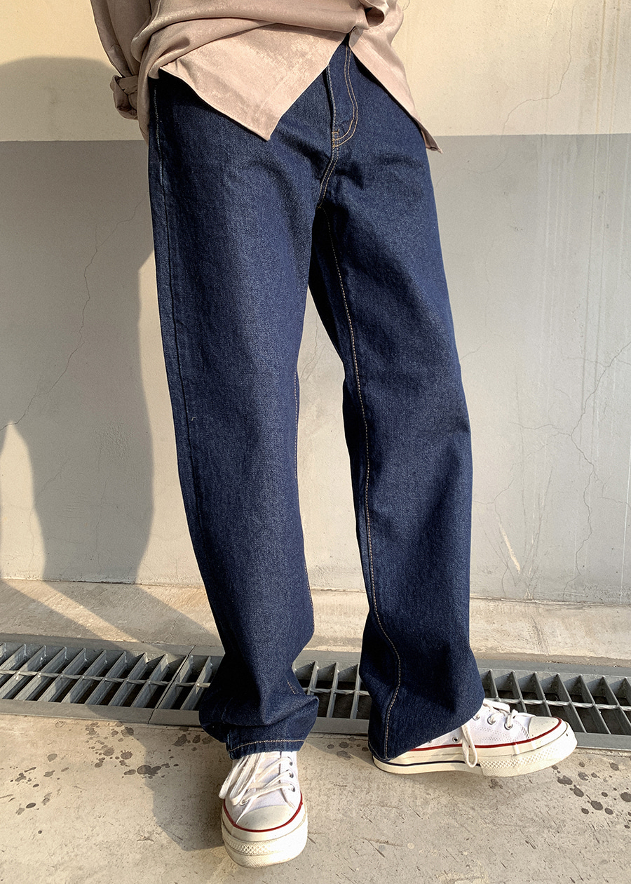 wood selvage denim(1 color)