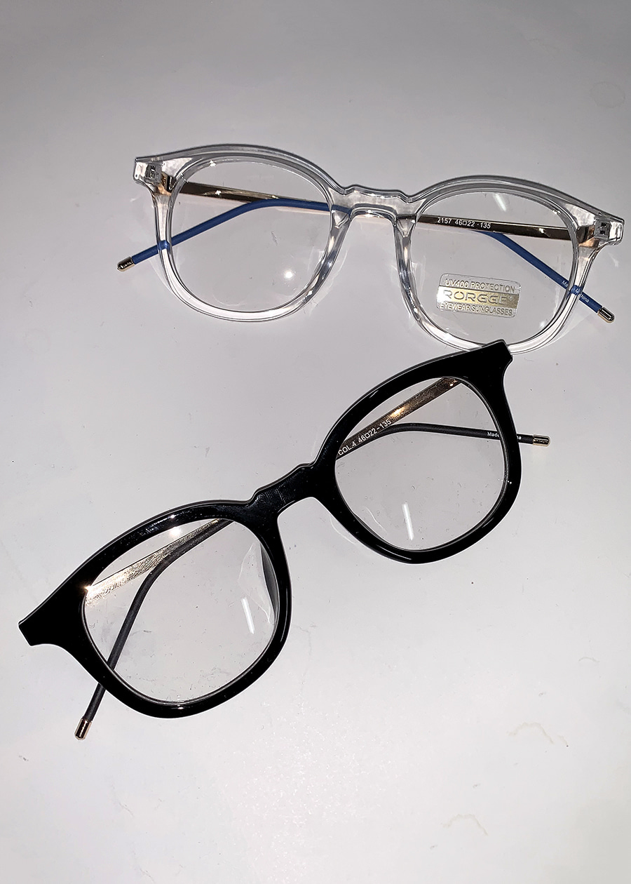fox classic glasses(2 color)