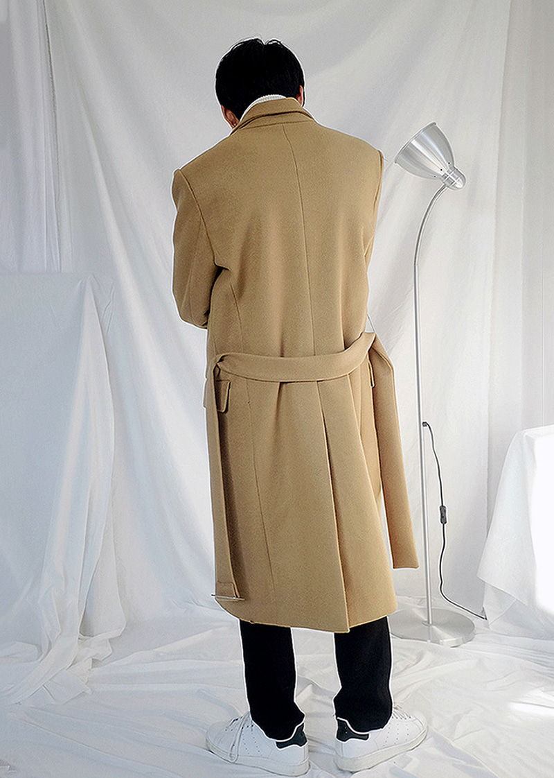 the belted coat(3 color!)