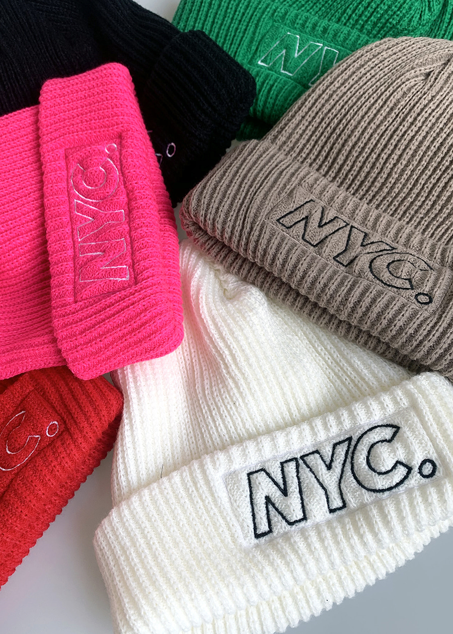NYC. color beanie(7 color)