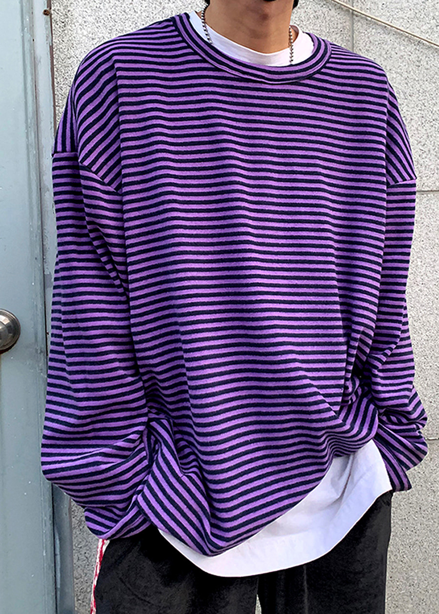 baby warm stripe t(4 color)