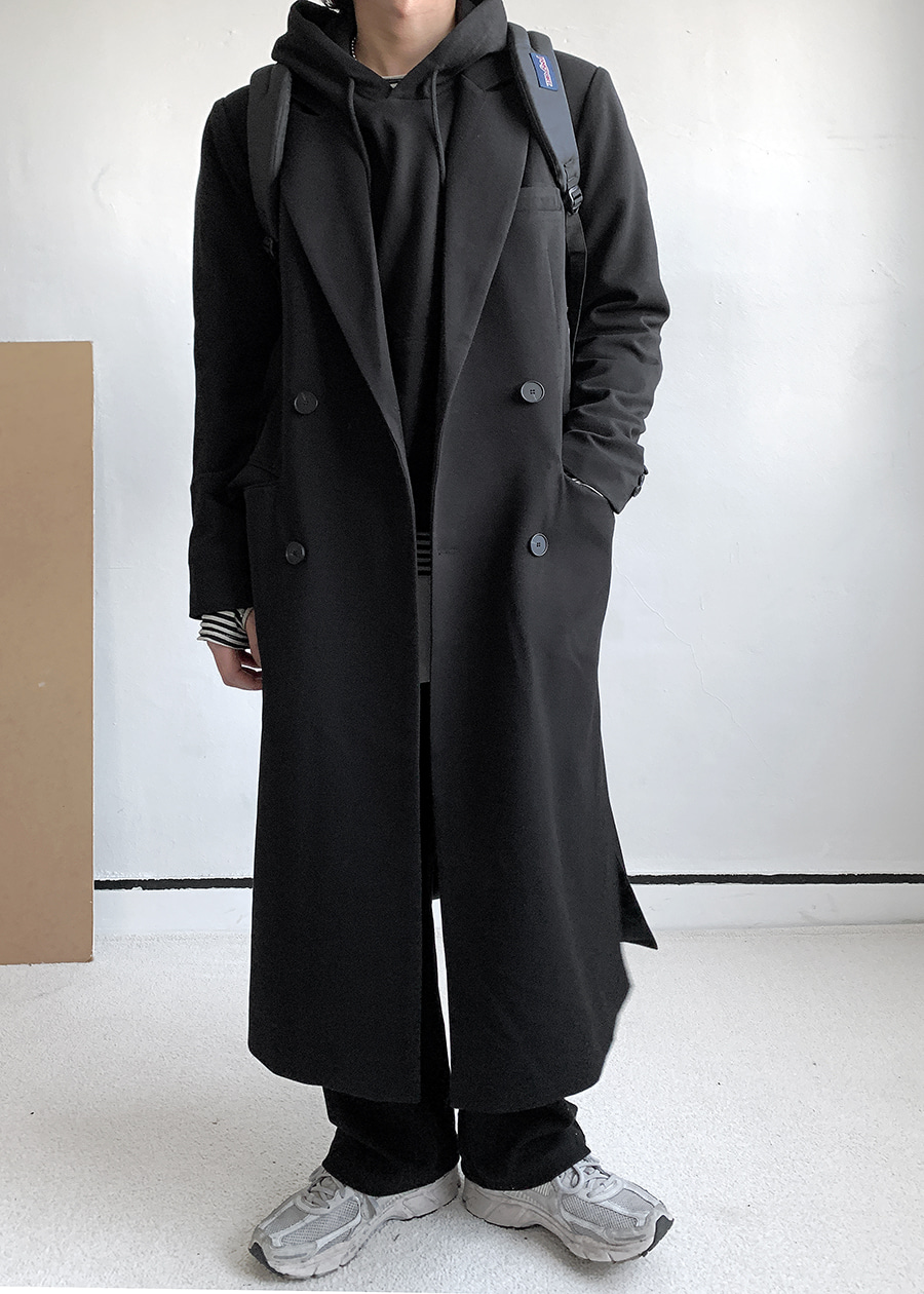 Long Slit Point Double Coat(2 color)