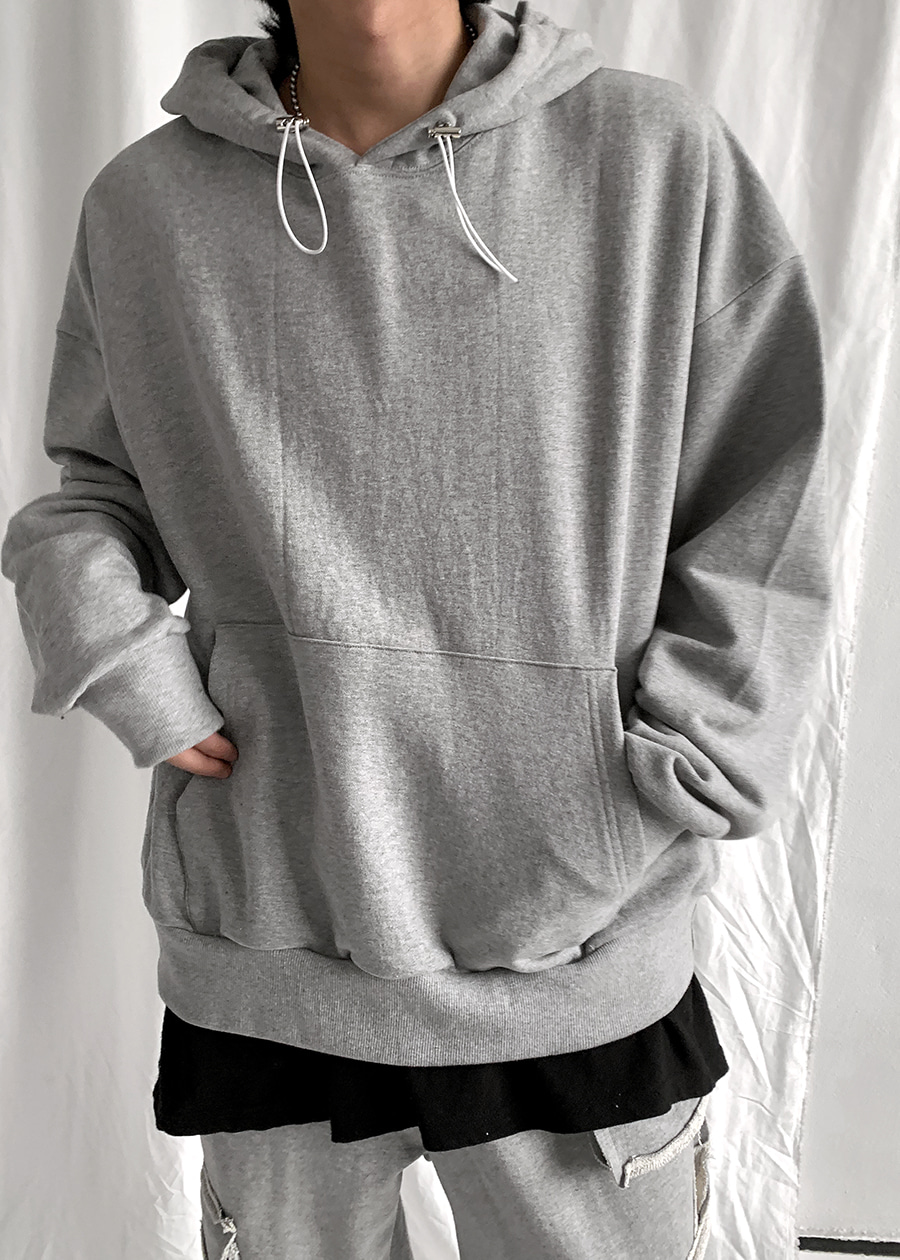 String Lose-fit Hoodie(3 color)