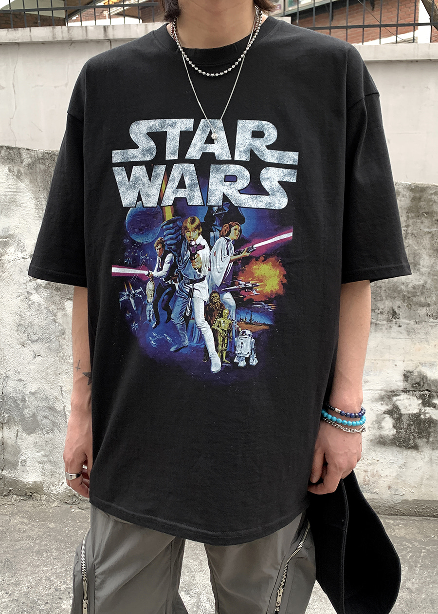 Star Wars Over Tee(2 color)