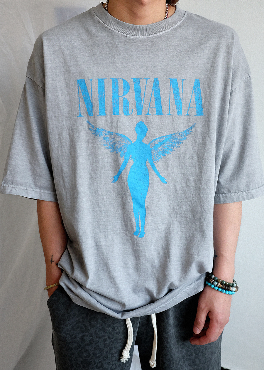Tour Nirvana Dying Tee(2 color)