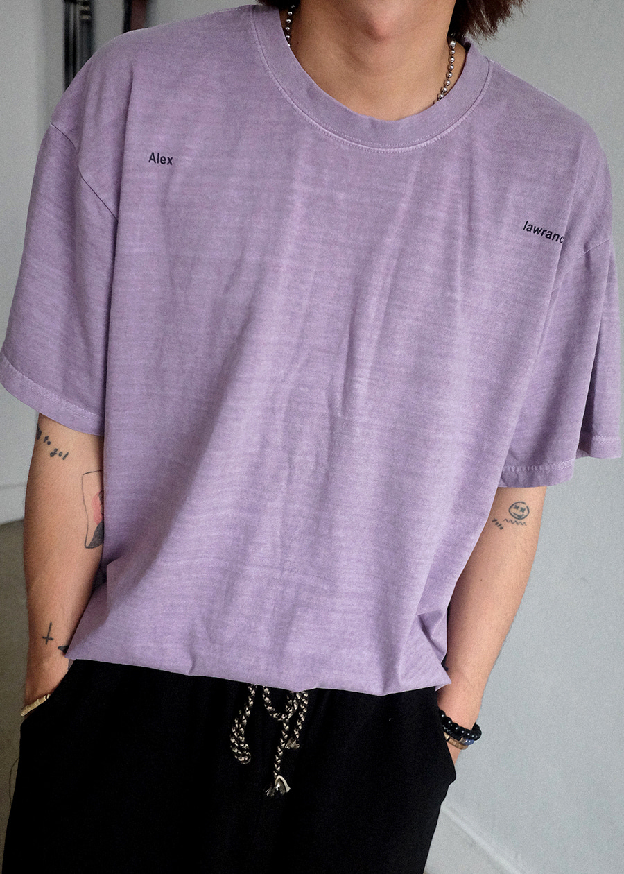 Alex Pigment Dying Tee(4 color)