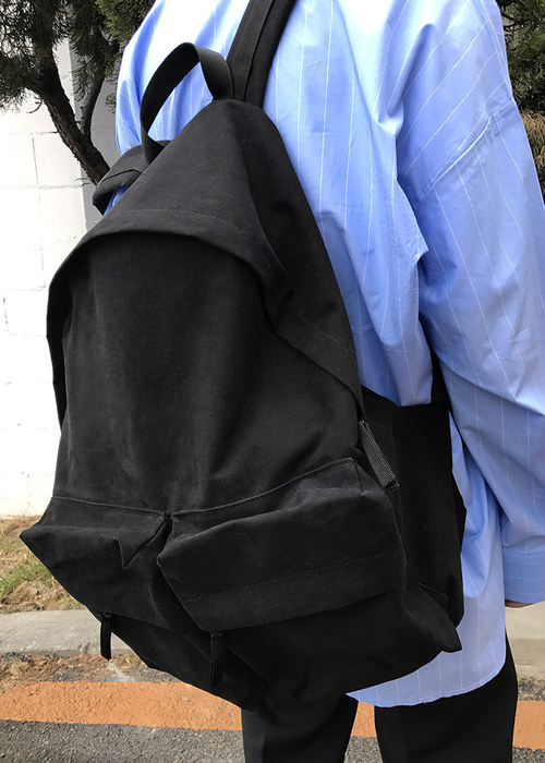 daily pocket backpack(black !)