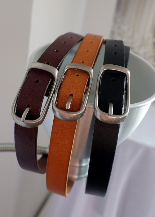 soft leather belt(3 color)