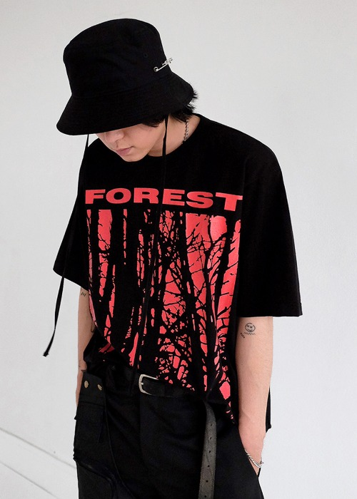 Forest 1/2 top(white, black !)