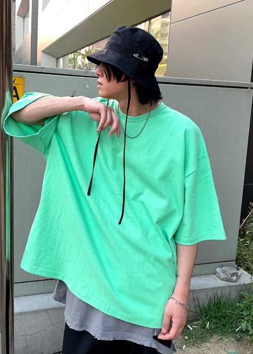 Heavy Cotton Oversize T(6 color)