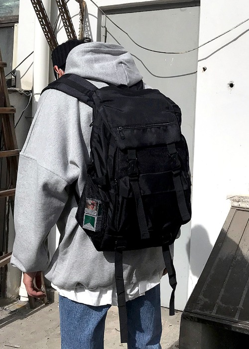 sporty backpack(black !)