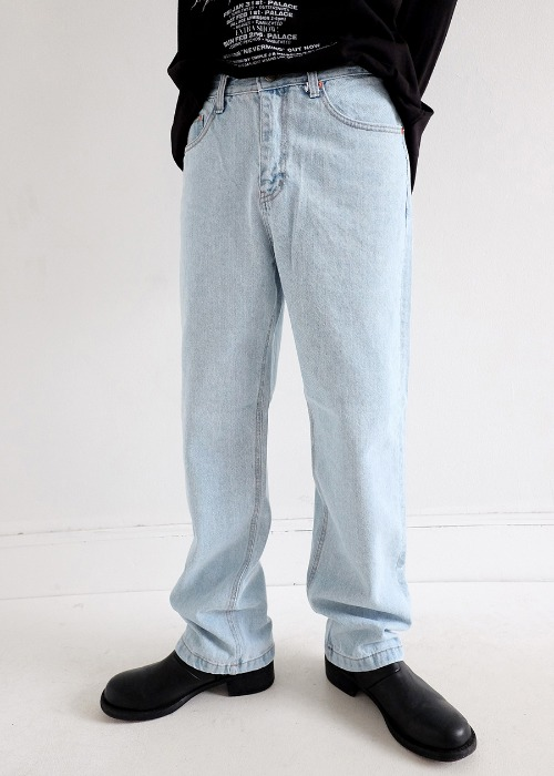 3 color wide denim(3 color)