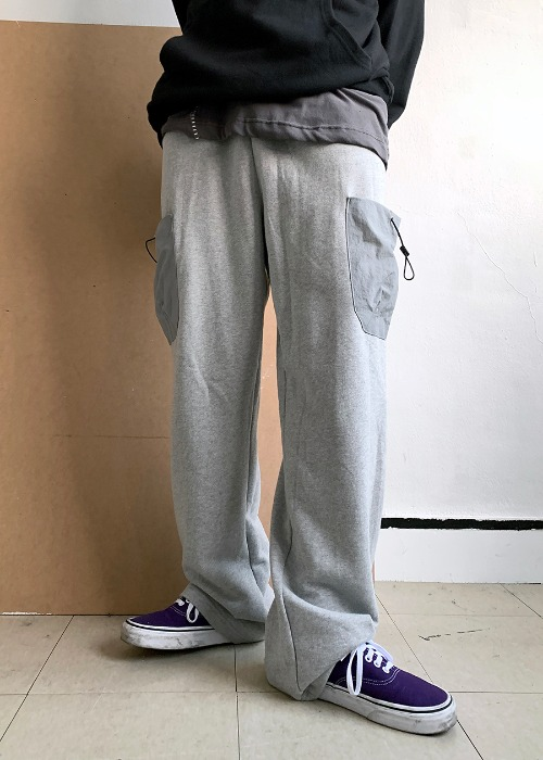 cotton string cargo pants(2 color)