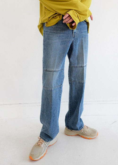 ★jayz straight denim jean[L size]