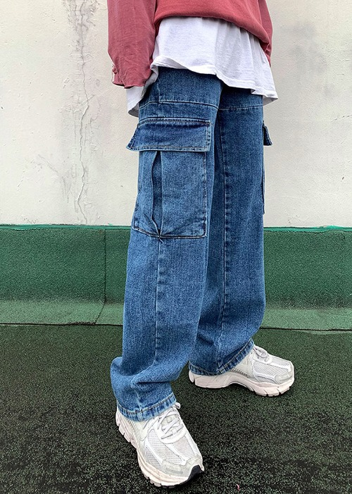 Leella Cargo Denim(1 color)