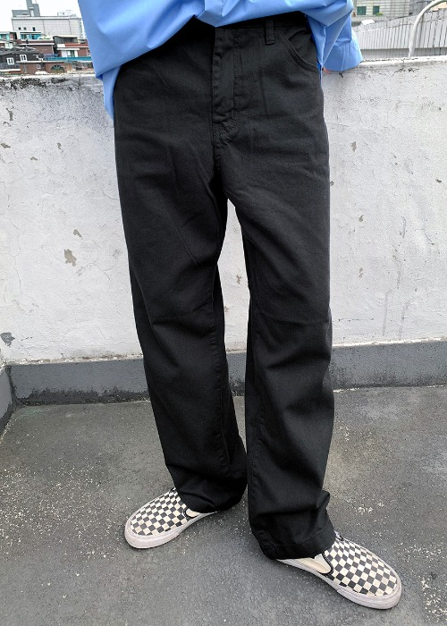 cotton banding pants(3 color)