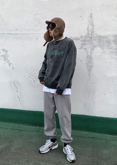 basic jogger pants(2 color)