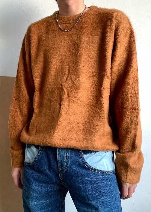 mohair knit(4 color)