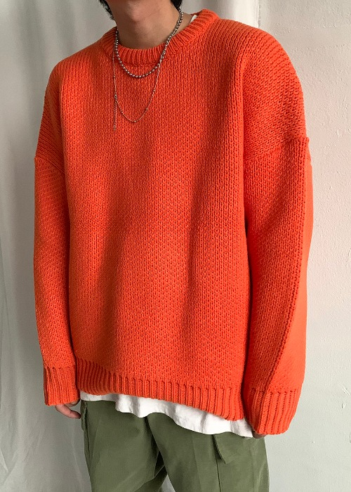 winter heavy knit(3 color)