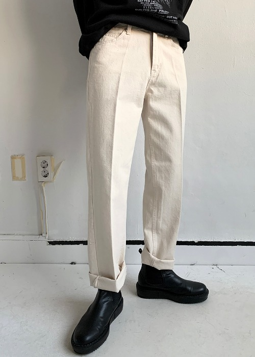 regular cotton pants(4 color)