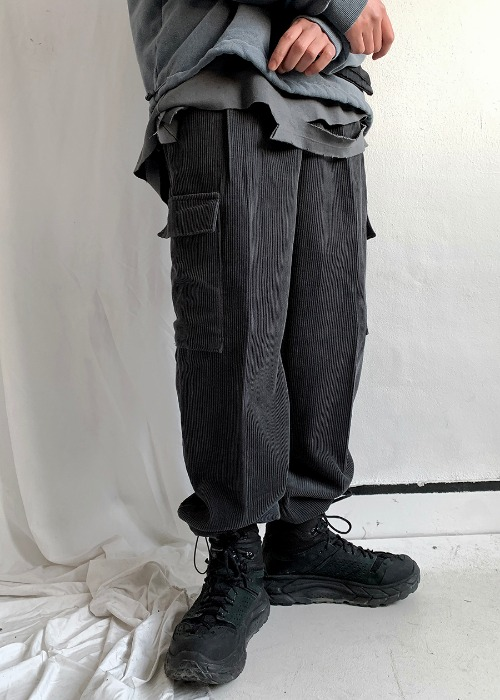 friday corduroy cargo pants(3 color)