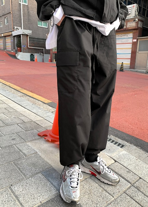 Friday Nylon Cargo Pants(2 color)