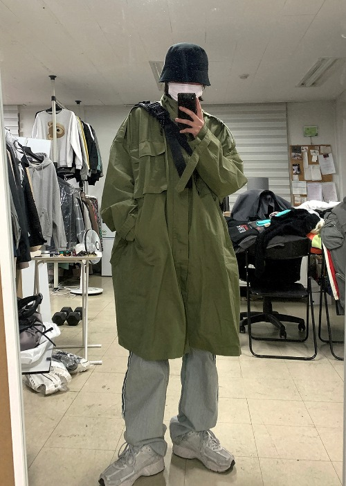 grunge over M-65 parka(2 color)