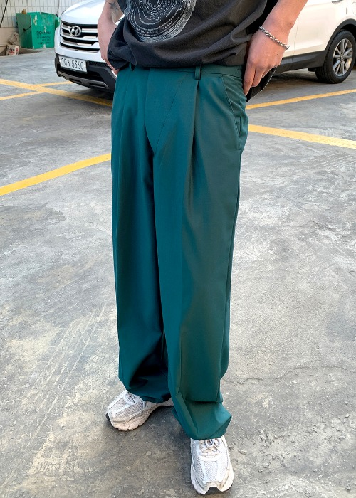 classic mini lab slacks(4 color)