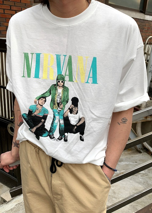 people nirvana tee(3 color)