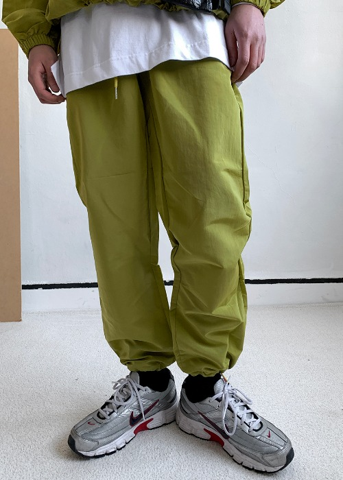 Lo Metal Nylon Pants(3 color)