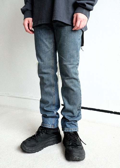Coating Blue Denim Jean(1 color)