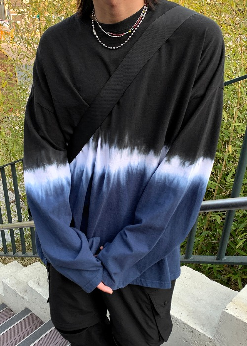 Wave Half Washing Long T(3 color)
