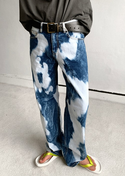 Tie-Die Washing Denim(1 color)