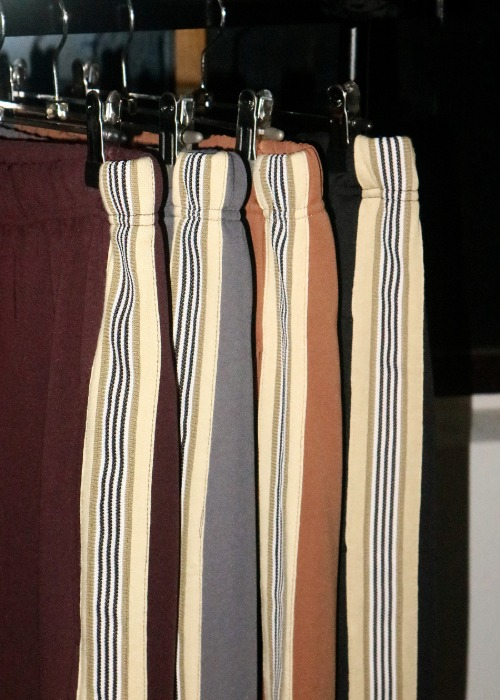 mat line track pants(4 color)